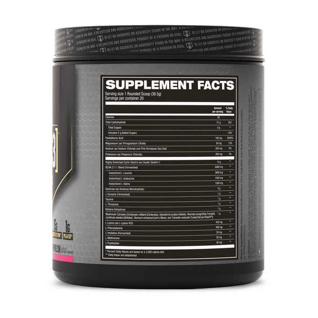 Hosstile Intra[R3] Intra-workout Watermelon Supplement Facts