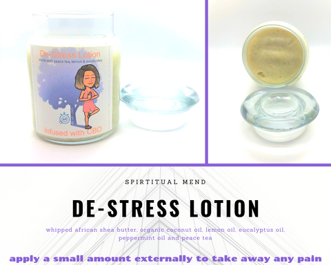 De-Stress Lotion with CBD