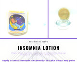 Insomnia Lotion with CBD