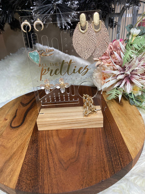 Rectangle Acrylic Jewellery Stand