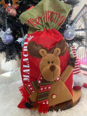 3D Personalised Santa Sacks