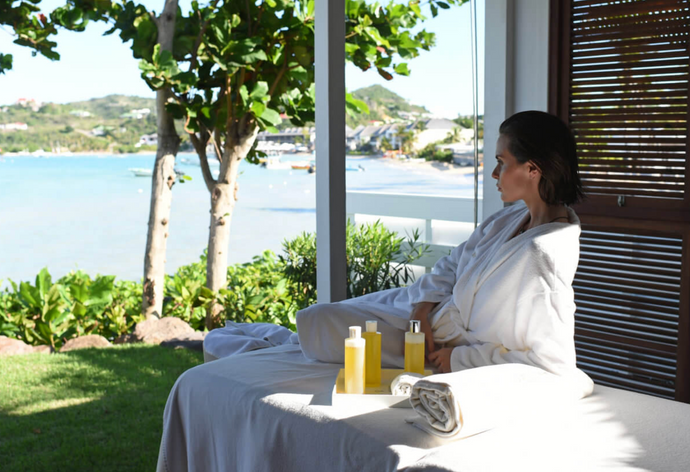 Dreaming about a Spa treatment on St. Barts