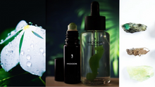 Load image into Gallery viewer, Facial serum with Jade seahorse gemstone