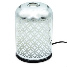Load image into Gallery viewer, Electric glass diffuser with flower of life print
