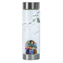 Load image into Gallery viewer, Crystal water bottle - Five Elements