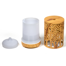 Load image into Gallery viewer, Ultrasonic aroma diffuser Zen Forest natural