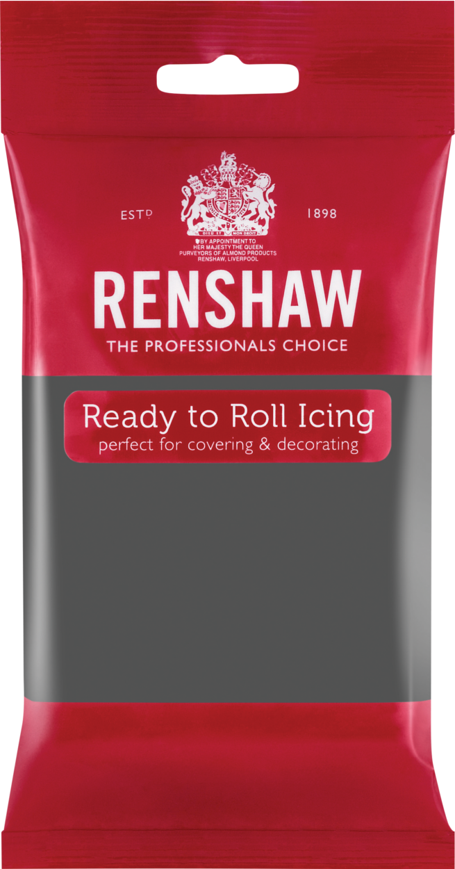 Ready To Roll Icing Grey 250g