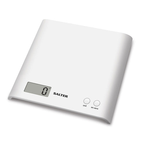 Salter Arc electronic kitchen scales -white
