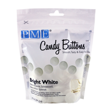 Load image into Gallery viewer, CANDY BUTTONS – BRIGHT WHITE (284g/ 10oz)