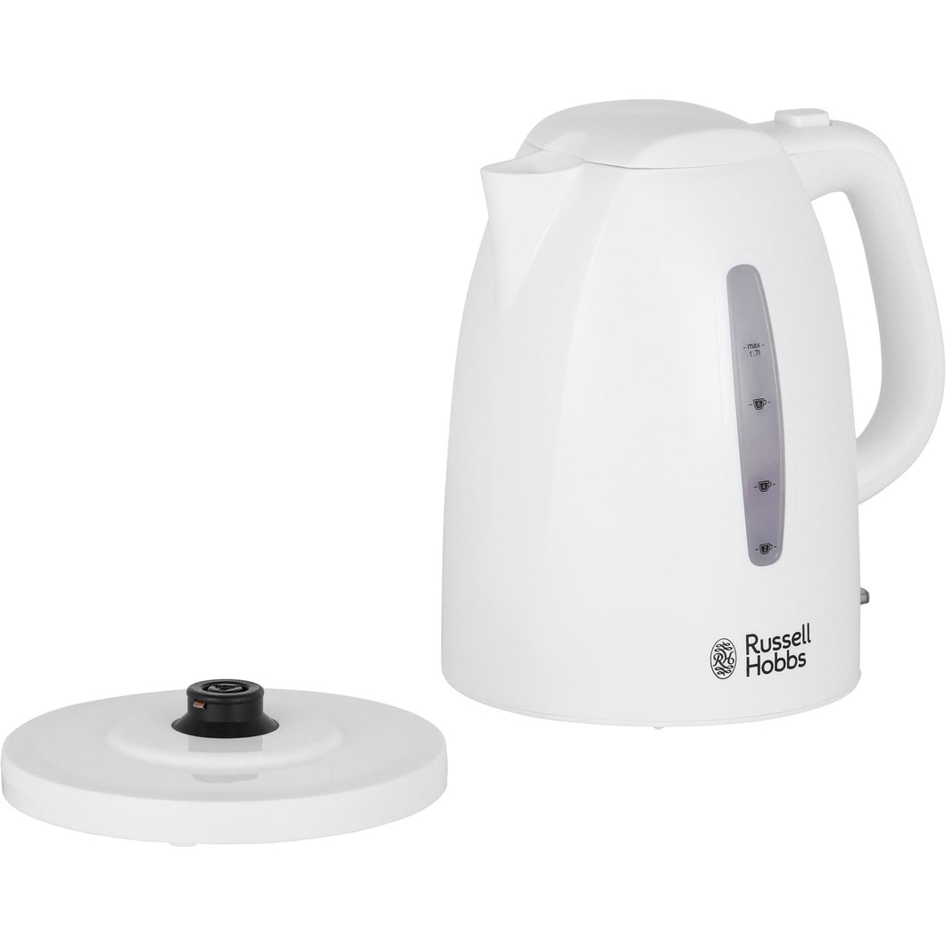 Russell Hobbs Texture white kettle