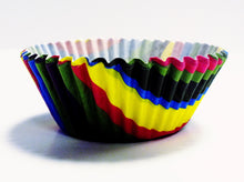 Load image into Gallery viewer, Rainbow Stripes Standard Baking Cases Pk/60