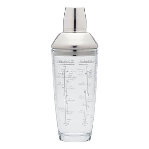 700ml Glass Boston Cocktail Shaker