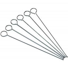 Load image into Gallery viewer, Flat Sided Skewers 15cm 6pc S/S