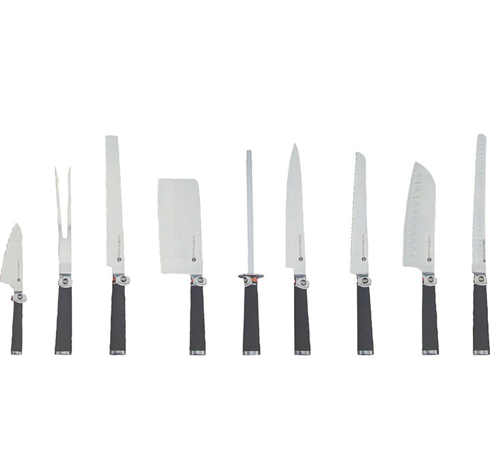 9 pieces Knife set (Black)