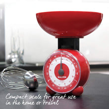 Load image into Gallery viewer, Salter Orb Mechanical Kitchen Scales - Red