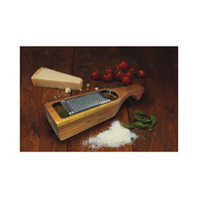 Load image into Gallery viewer, Italian Bamboo Grater with Holder