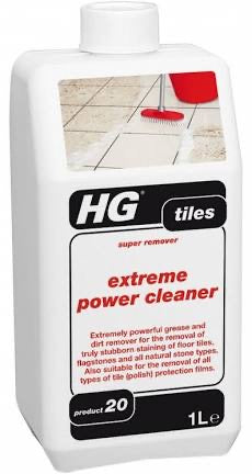 Extreme power cleaner