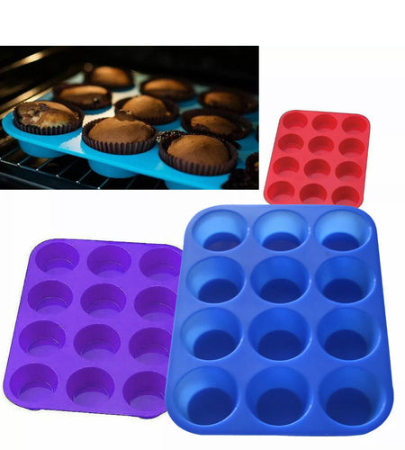 Silicon Bake Muffin Pan
