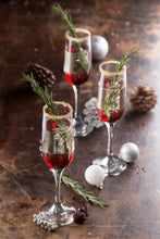 Load image into Gallery viewer, Cabernet Set of 4 Prosecco Flute Glasses 20cl