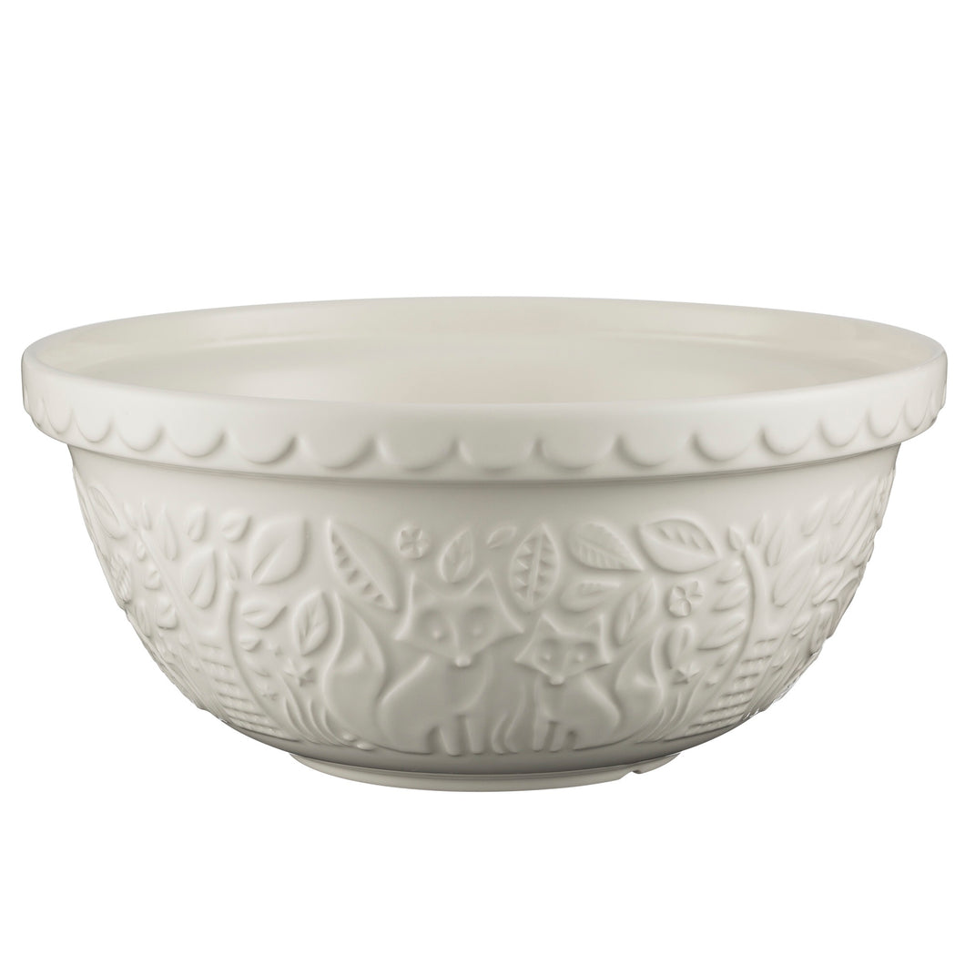 IN THE FOREST S12 (29CM) CREAM MIXING BOWL