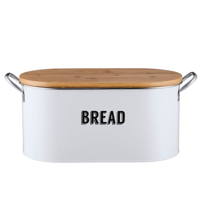 Retro White Bread Bin
