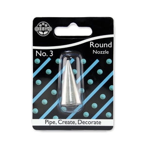 Round Nozzle #3 Carded