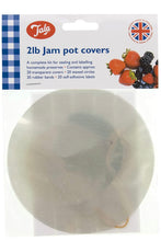 Load image into Gallery viewer, 2lb Jam Pot Covers