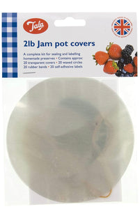 2lb Jam Pot Covers