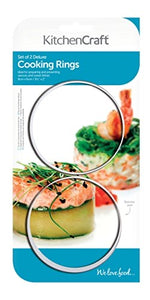 Stainless Steel Extra Deep Cooking Rings