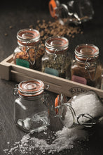 Load image into Gallery viewer, CLIP TOP SQUARE SPICE JAR 70ML