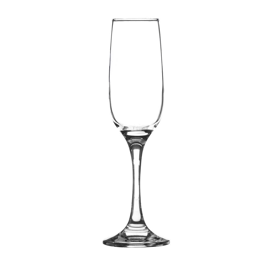 Cabernet Set of 4 Prosecco Flute Glasses 20cl