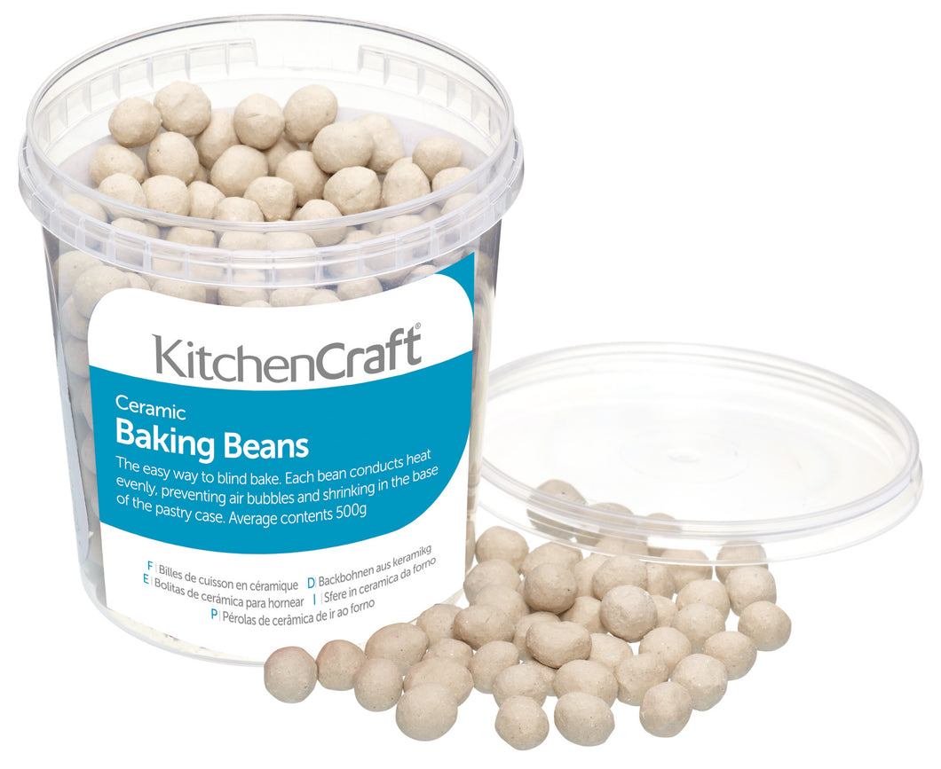 Baking Beans with Tub 500g Ceramic