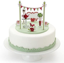 Load image into Gallery viewer, 11 Sweetly Does It Tea Party Cake Topper Kit