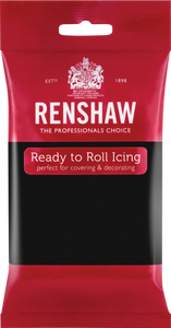 Ready To Roll Icing Jet Black 250g