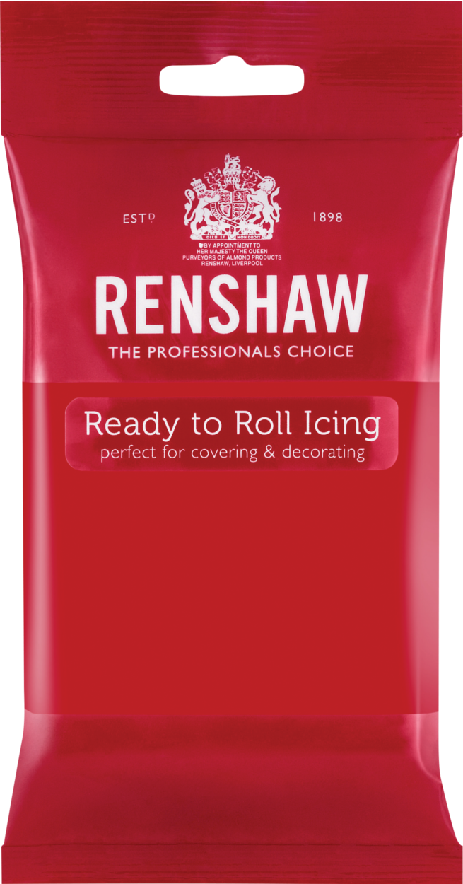 Ready To Roll Icing Poppy Red 250g