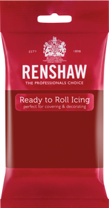 Ready To Roll Icing Ruby Red 250g