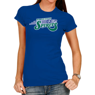 Spirits Blue Vintage Women's Tee