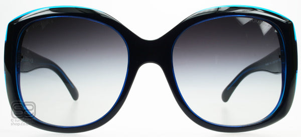 TRANSPARENT BLUE/BLACK (1218/3C)