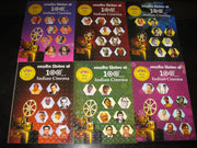 India 2013 Indian Cinema Film Movie Art Actor Actress Set of 6 Booklet Presentation Pack # 10034