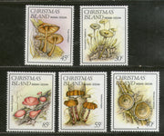 Christmas Islands 1984 Mushrooms Fungi Plant Sc 152-56 MNH # 1030