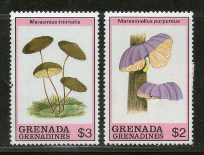 Grenada Grenadines 1989 Mushrooms Fungi Plant Sc 1083-84 MNH # 1228