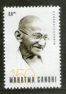 Azerbaijan 2019 Mahatma Gandhi of India 150th Birth Anniversary 1v MNH # 12691A