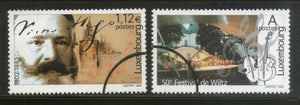 Luxembourg 2002 Cultural Event Festival Writer Music SPECIMEN Sc 1093-4 MNH # 12 - Phil India Stamps