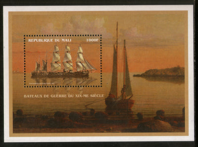 Mali 1996 Sailing Ship Transport Sc 833 M/s MNH # 13022