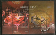 Mexico 2010 India Joints Issue Dance Music Instrument Costume M/s MNH # 13277