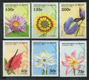 Benin 1995 Flowers Orchid Tree Plant Flora Sc 768-73 MNH # 0132 - Phil India Stamps