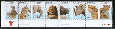 Namibia 1997 Fauna & Flowers Wildlife Animals Birds Parrot Sc 853-70 MNH # 13556