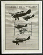 Congo Zaire 2001 History of Aviation Aeroplane Transport Sc 1587 M/s MNH # 13571