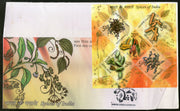 India 2009 Spices of India Cardamon Turmeric Coriander Chilly Clove Cinnamon Herbal Medicine M/s FDC # 15061