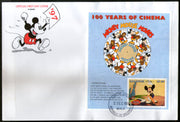 Maldives 1996 Disney Mickey Mouse Cartoon Sc 2194 M/s FDC # 15266